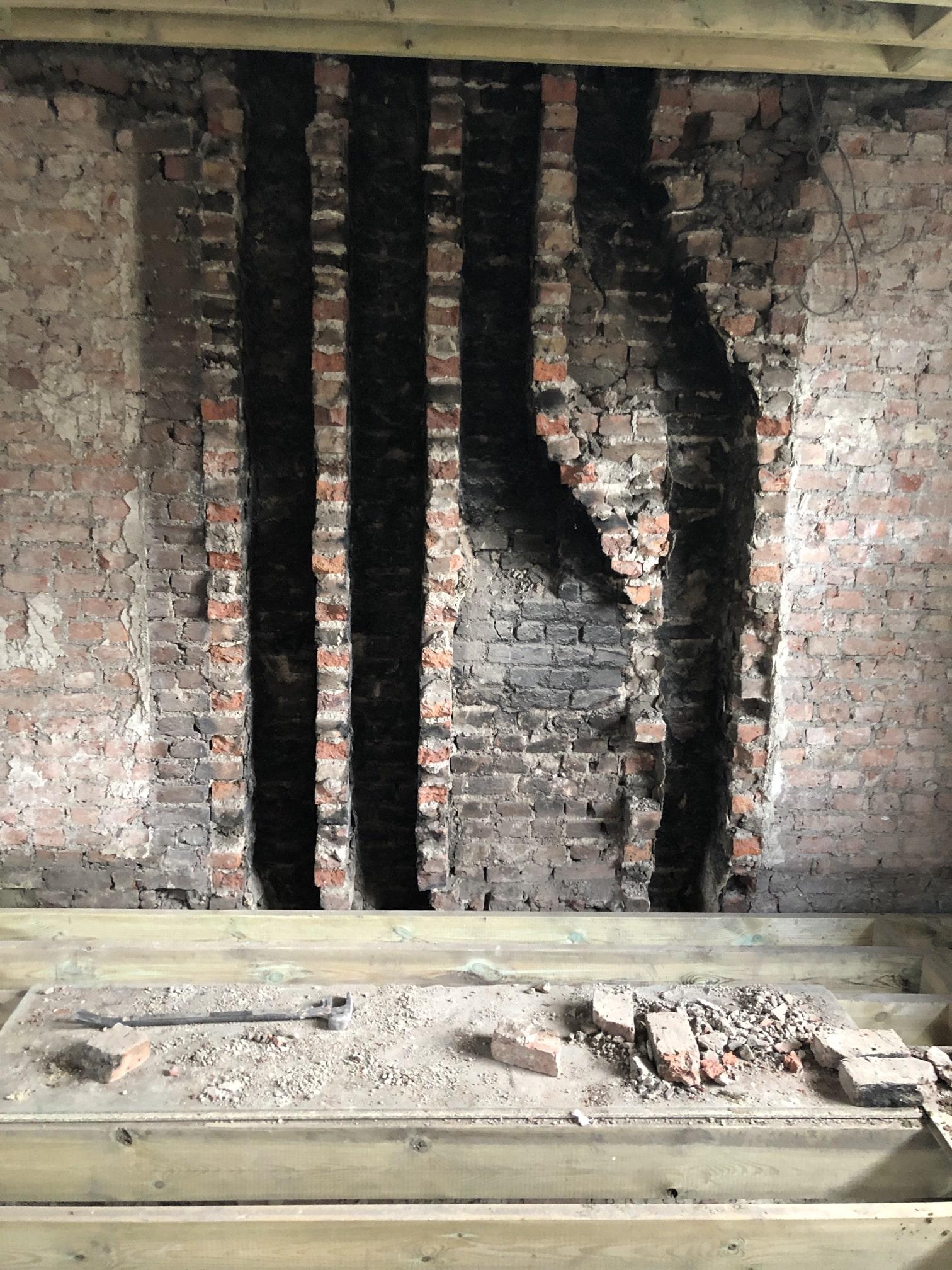 chimney midfeathers