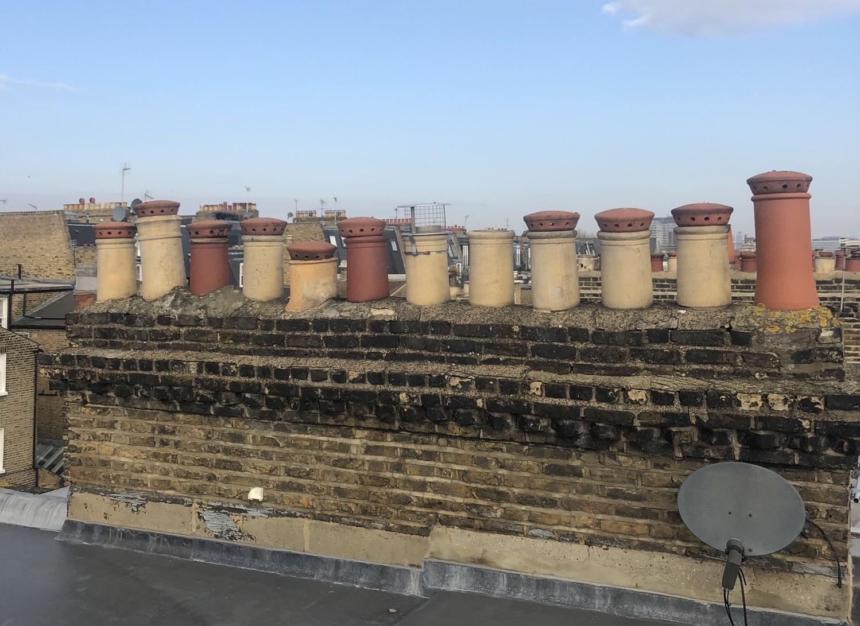 shared chimney stack